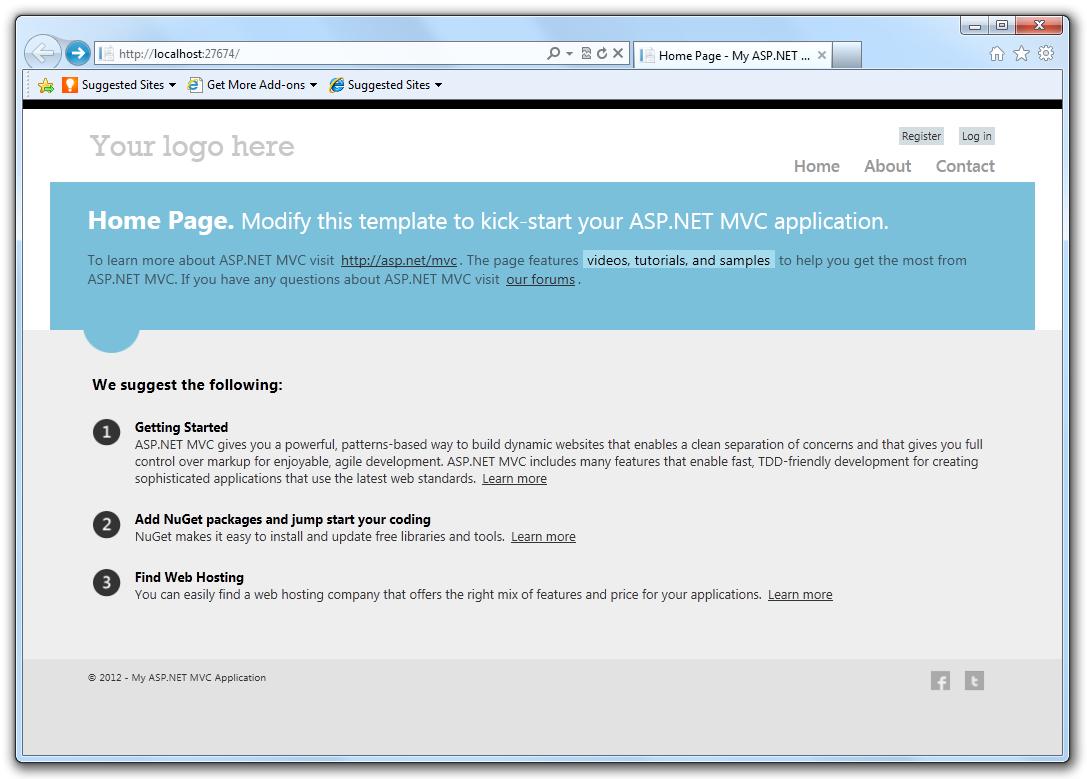 ASP.NET MVC 4   Microsoft Docs