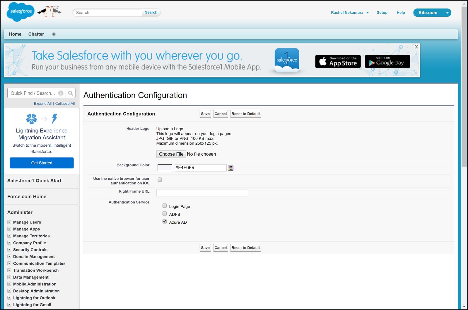 Migración de aplicaciones locales de AD FS a Azure. | Microsoft Docs