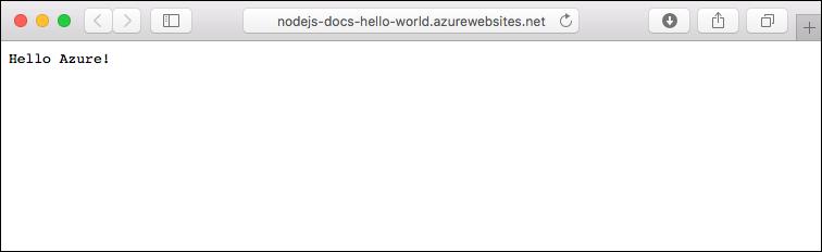 Aplicación de ejemplo actualizada que se ejecuta en Azure