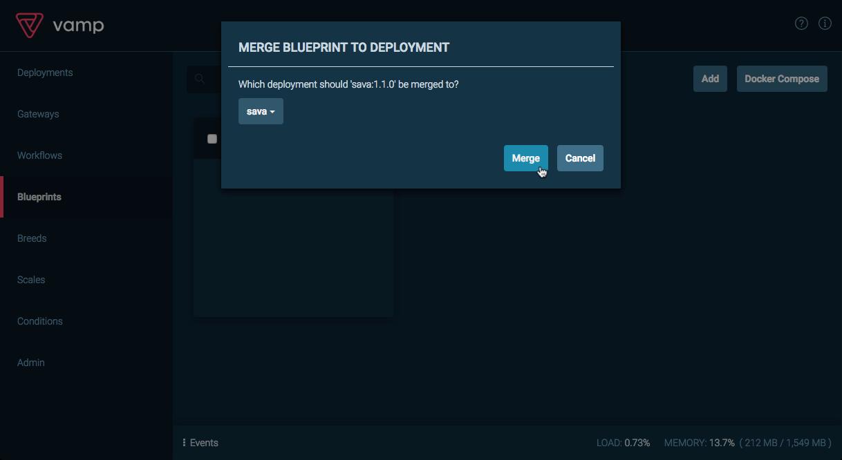 Lanzamiento controlado con vamp en un clster de dcos en azure interfaz de usuario de vamp combinacin del plano con la implementacin malvernweather Gallery