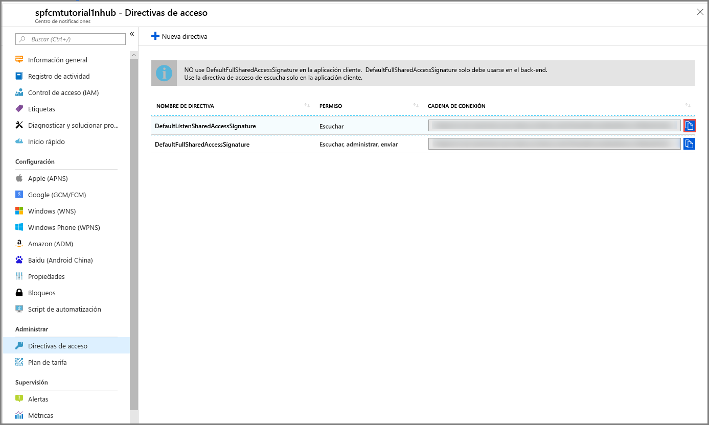 Diagnóstico de notificaciones eliminadas de Azure Notification Hubs ...