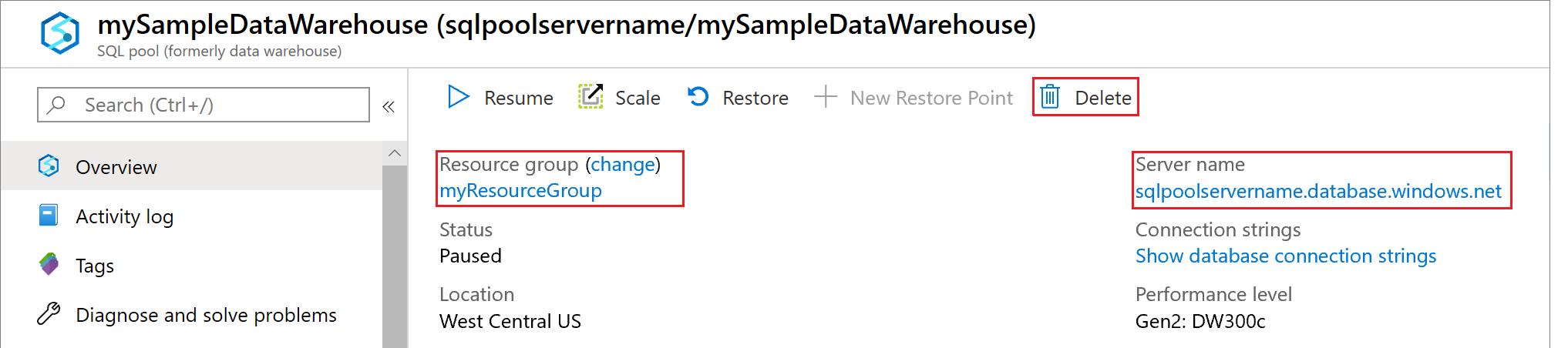 Inicio rápido: Pausar y reanudar un proceso en Azure SQL Data ...