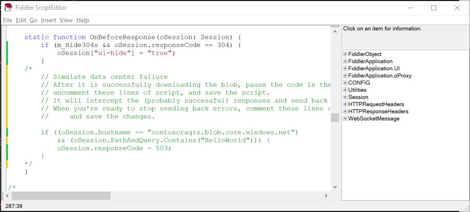 Simulación de un error al acceder al almacenamiento con redundancia ...