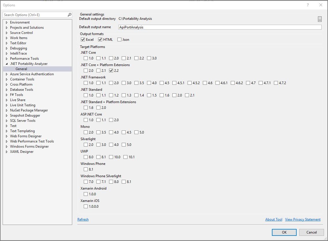 Analizador de portabilidad de .NET | Microsoft Docs