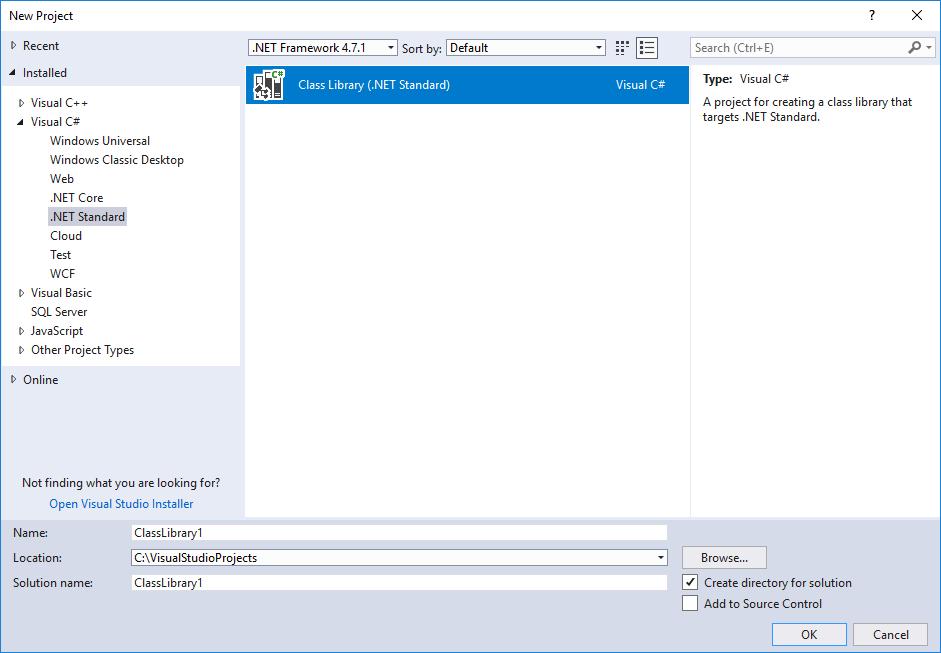 Novedades de .NET Standard | Microsoft Docs