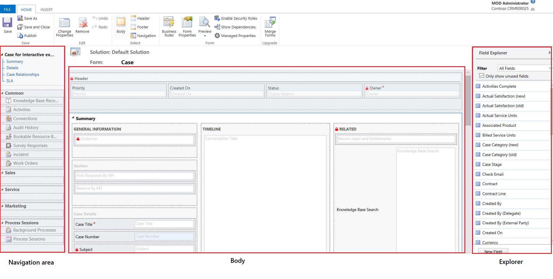 Información general de la interfaz de usuario del editor de ...
