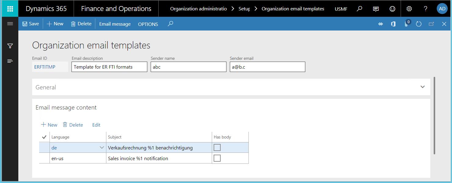 Generar formularios FTI imprimibles - Finance & Operations ...