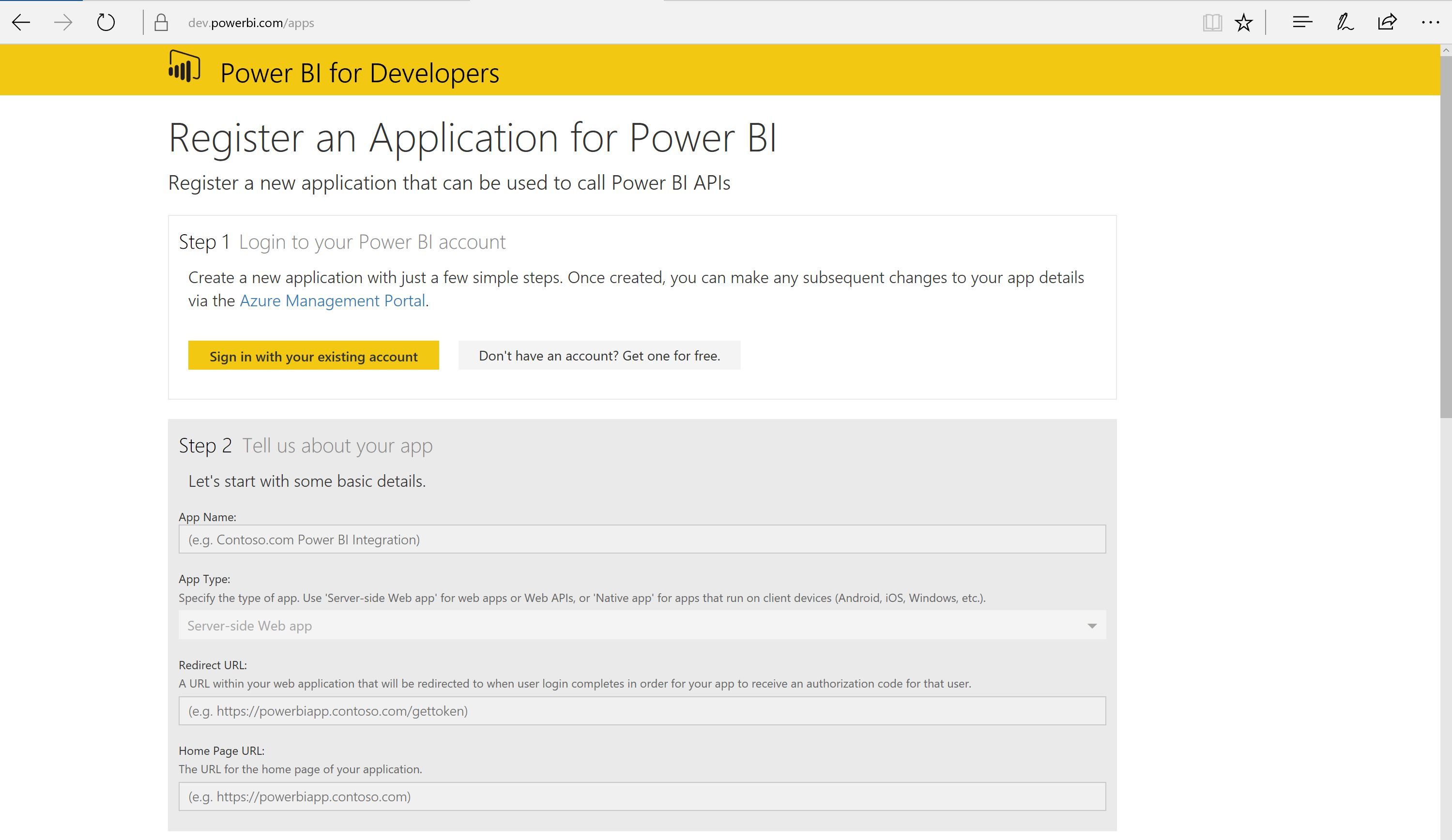 Configure Power BI integration for workspaces - Finance & Operations ...