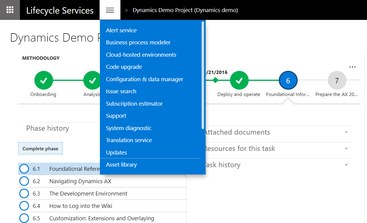 Subscription estimator in Lifecycle Services (LCS) - Finance ...