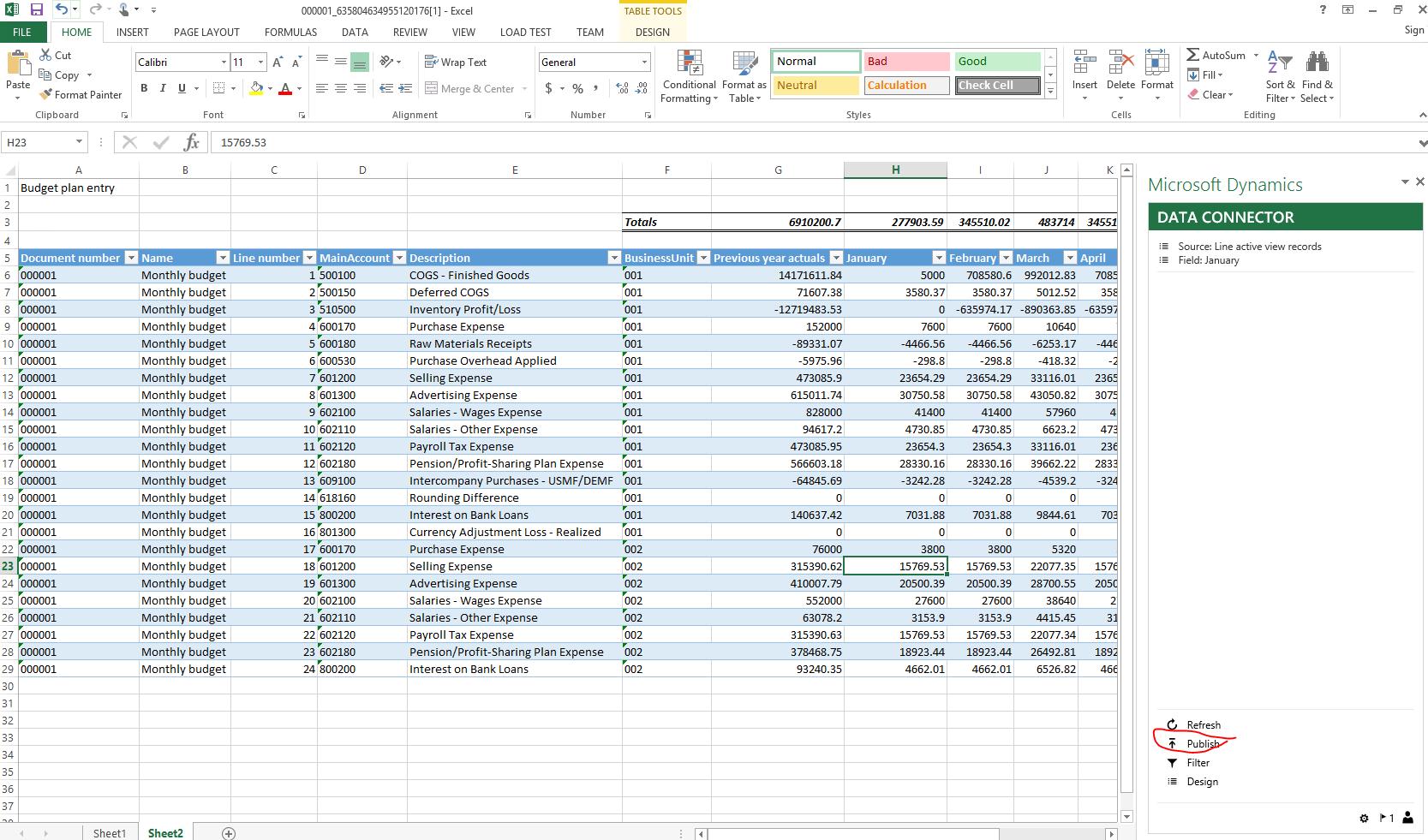 Planificación presupuestaria - Finance & Operations | Dynamics 365 ...