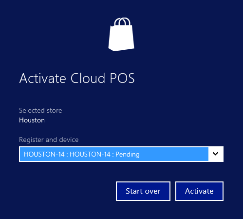 Retail POS device activation - Finance & Operations | Dynamics 365 ...