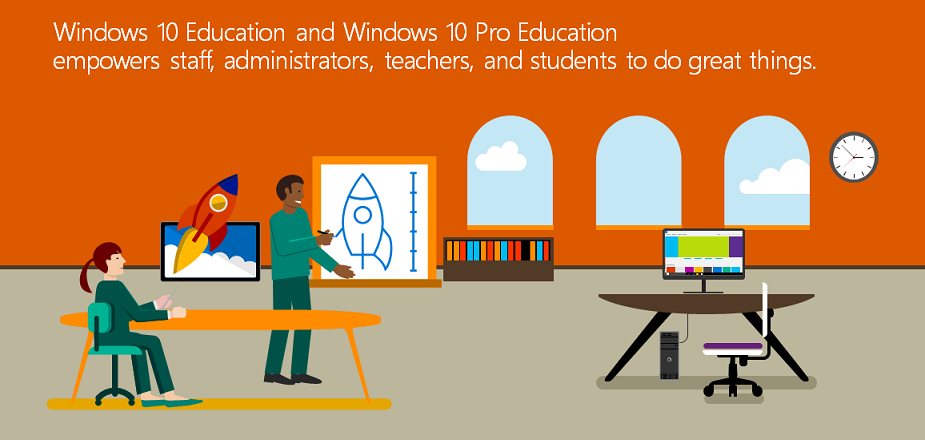Windows 10 Education y Windows 10 Pro Education