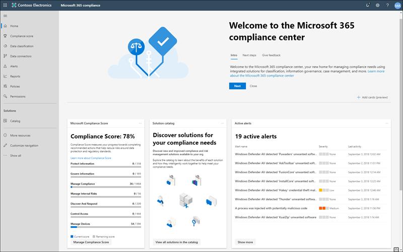 Centro de Cumplimiento de Microsoft 365 – Comiendome la Nube