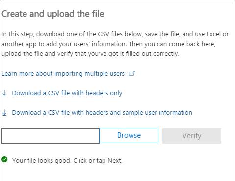 Se comprueba el archivo CSV