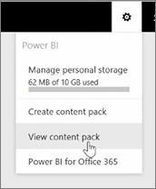 Uso compartido y colaboración en Power BI