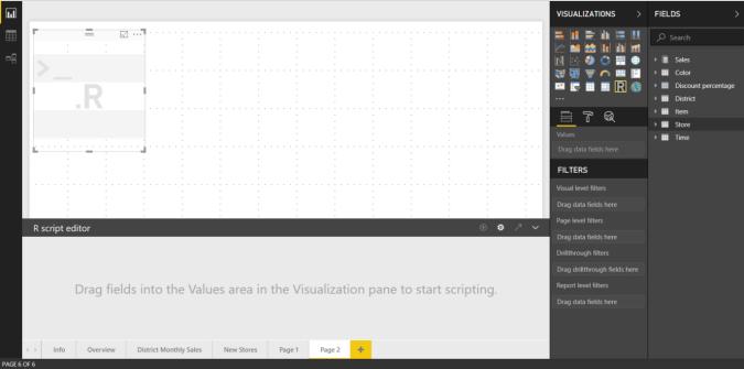 Crear objetos visuales de Power BI con R - Power BI | Microsoft Docs