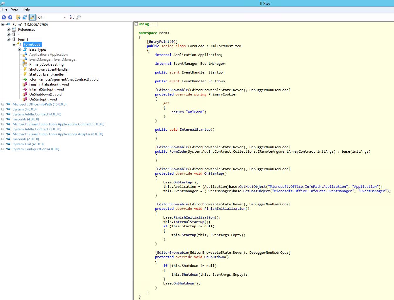 Corrección de formularios de InfoPath en soluciones de espacio ...