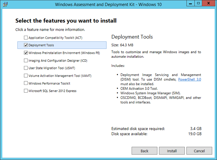 Deploy windows 10 to surface devices with microsoft deployment required options for deployment with mdt ccuart Images