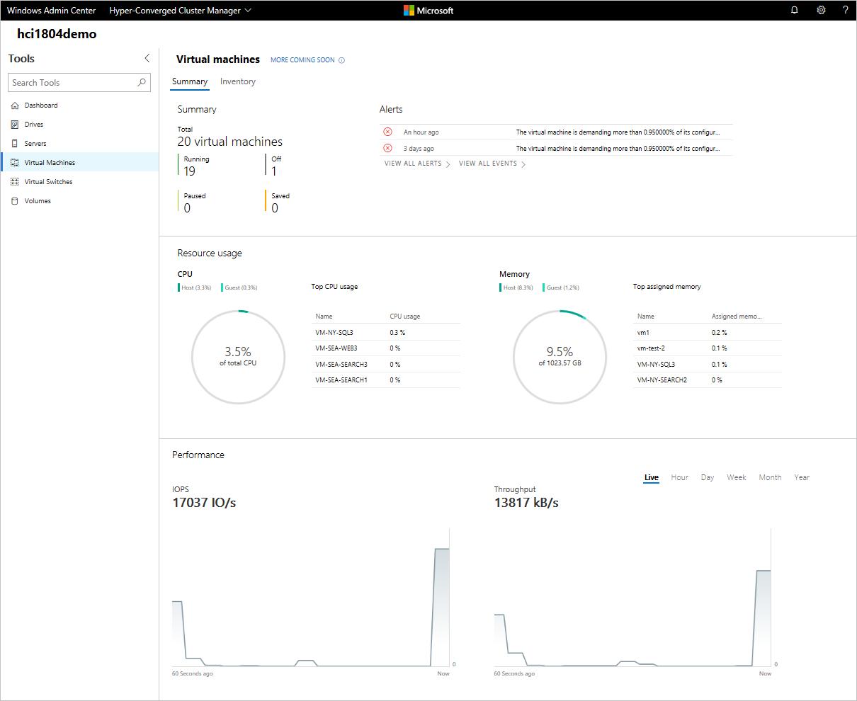 Administración de máquinas virtuales con Windows Admin Center ...