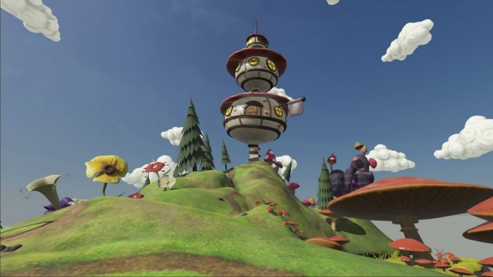 Fantasy Island sample environment