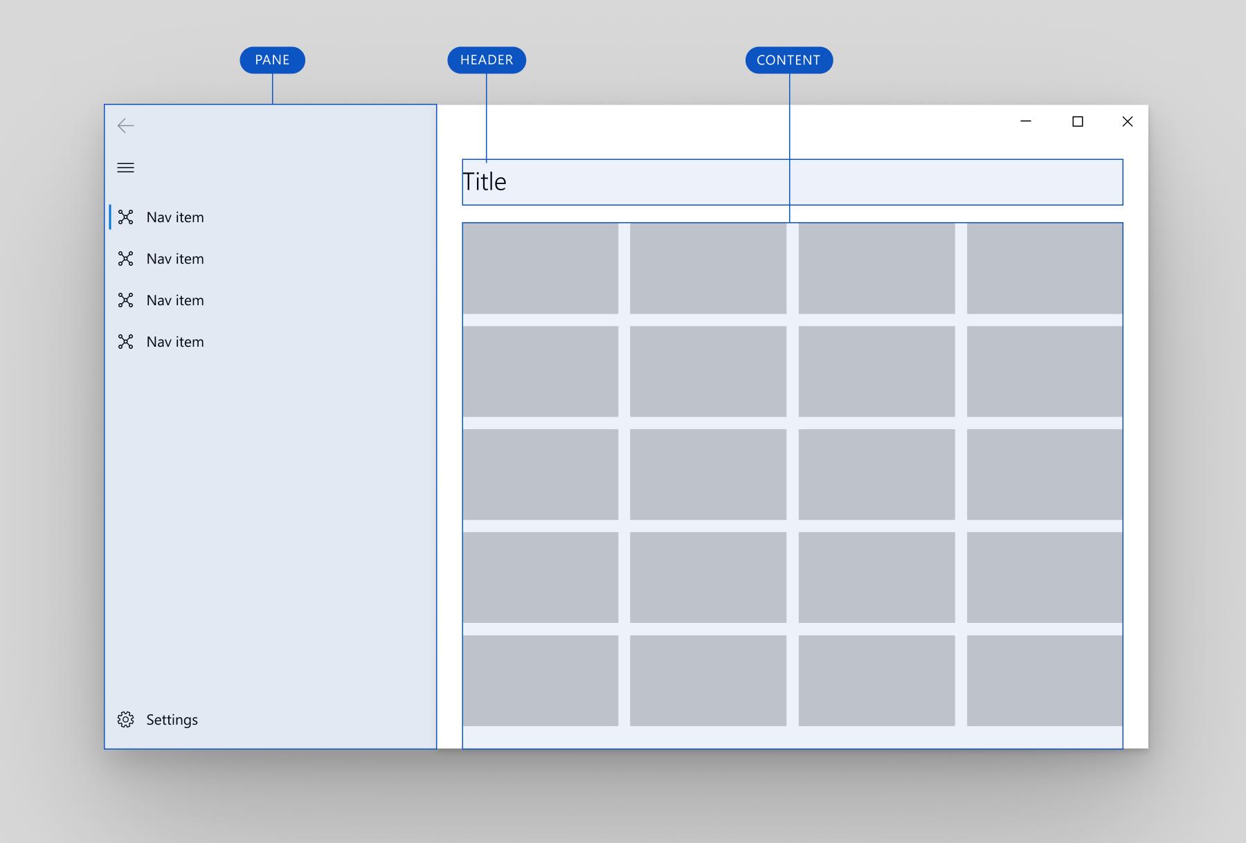 Vista de navegación - UWP app developer | Microsoft Docs