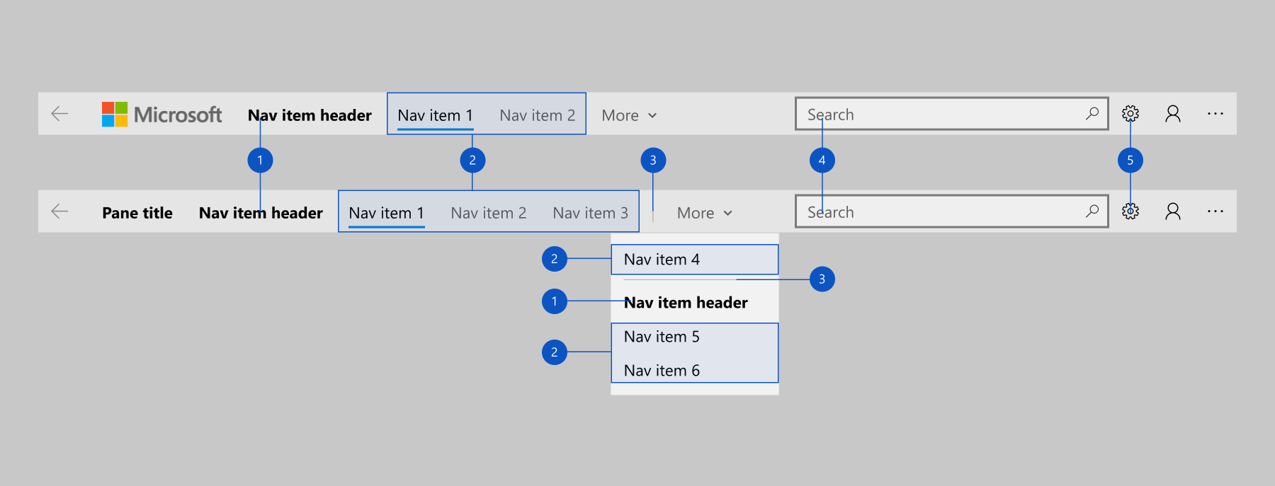 Vista de navegación - UWP app developer   Microsoft Docs