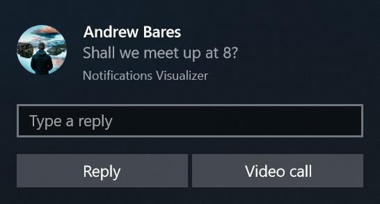 Contenido de notificaciones del sistema - UWP app developer ...