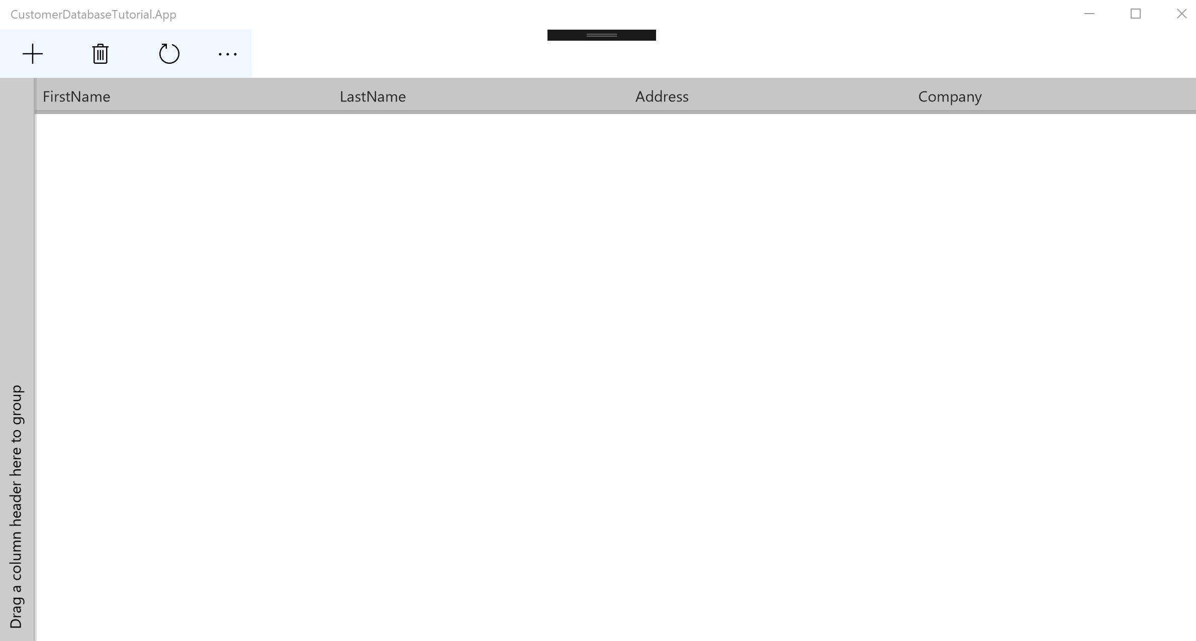 Create a customer database application - UWP app developer ...