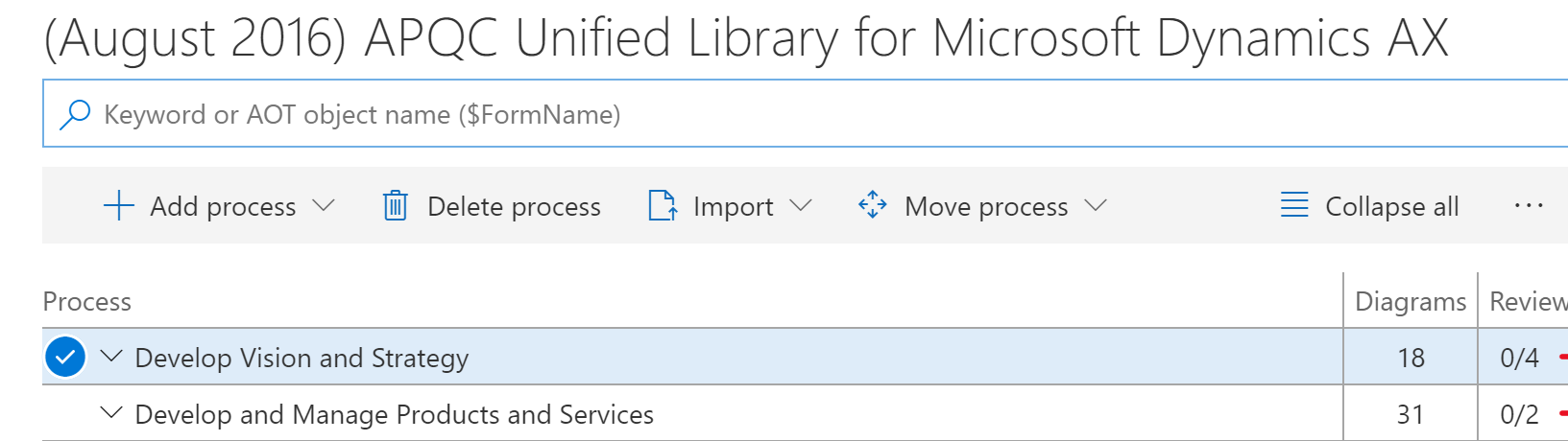 navigate to the line you would like to import to and select import