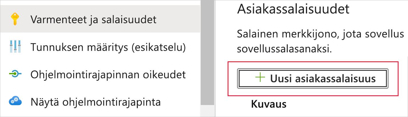 Microsoft Salasana