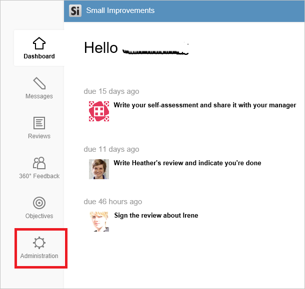 small improvements login