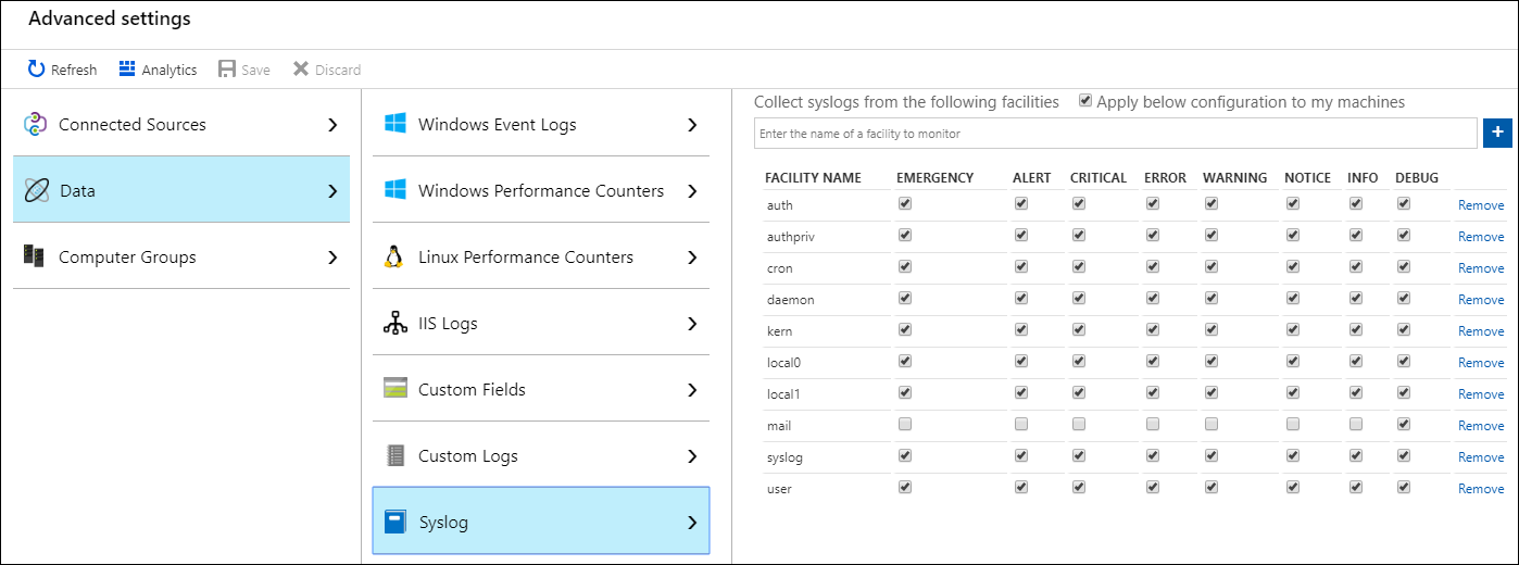 Collecter Et Analyser Les Messages Syslog Dans Azure Monitor