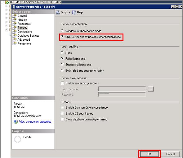 Connexion A Une Machine Virtuelle Sql Server Sur Azure Classique
