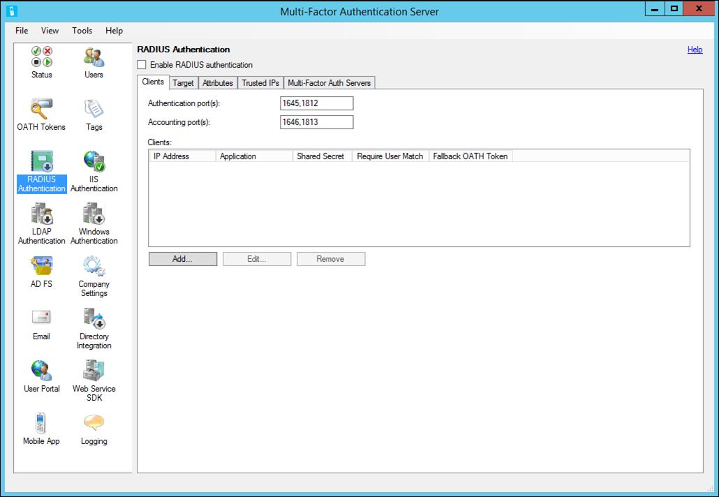 rdg et azure mfa server avec radius microsoft docs