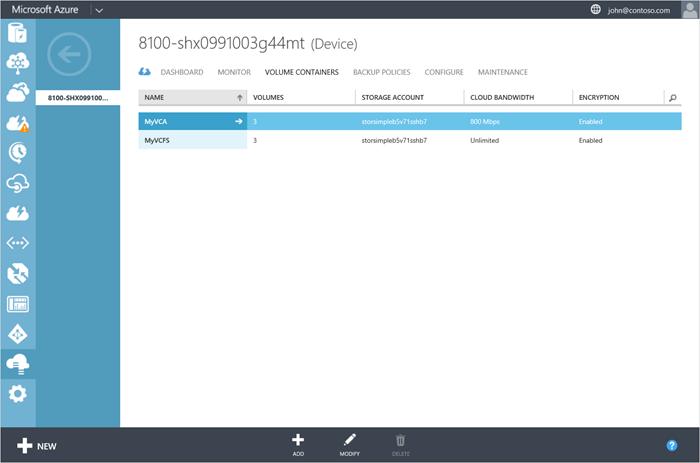 Container Volume Control : Gérer vos conteneurs de volumes storsimple microsoft docs