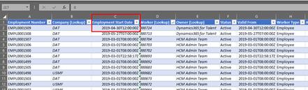 Excel via Common Data Service