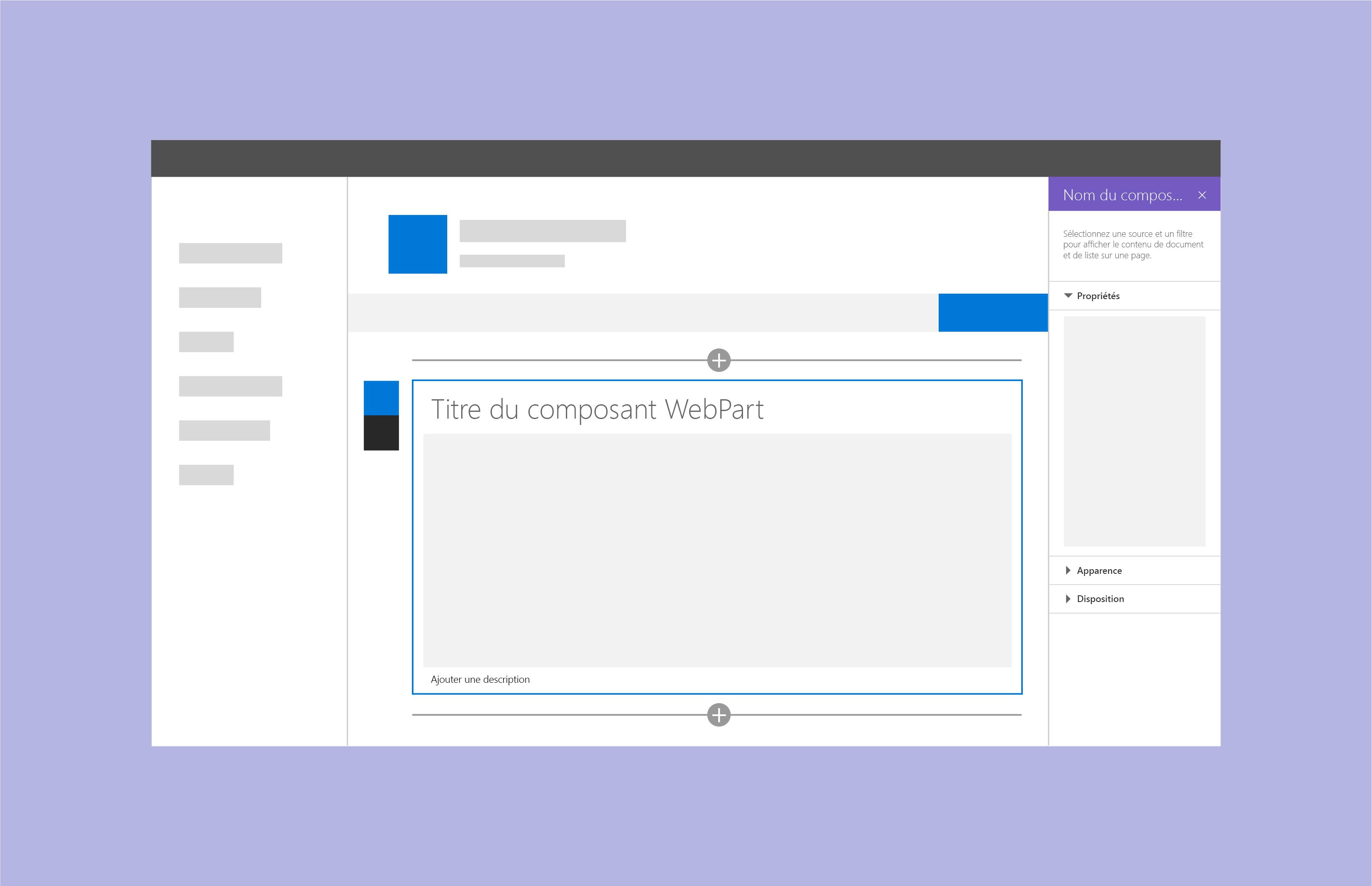 composant webpart sharepoint