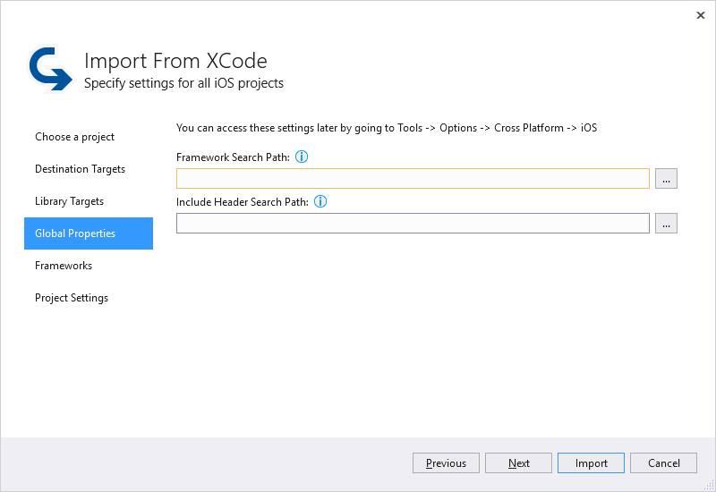 Importer Un Projet Xcode Visual Studio Microsoft Docs
