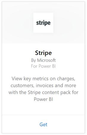 Connect to Stripe with Power BI - Power BI | Microsoft Docs