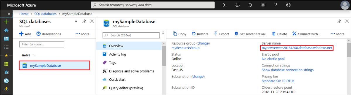 Ssms connettersi ed eseguire query sui dati nel database - Porta sql server ...