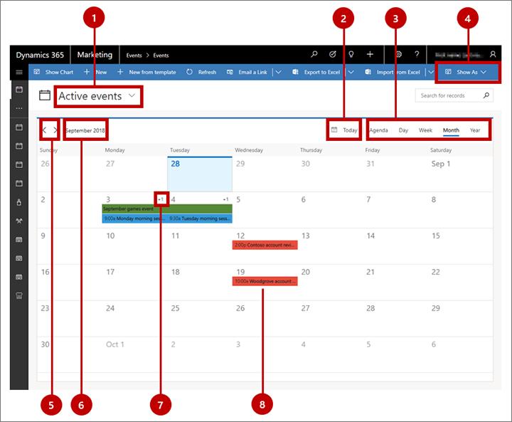 Calendario Prenotazioni Hotel Excel.Visualizzare E Creare Elementi Basati Sul Tempo Con Il