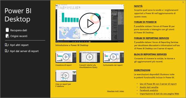 Creare un report di Power BI per Server di report di Power