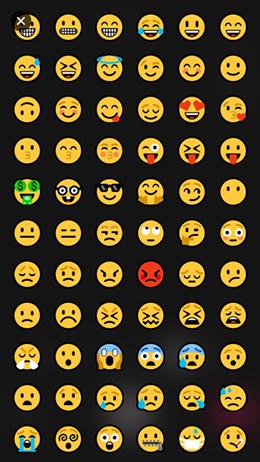 Schermo emoji