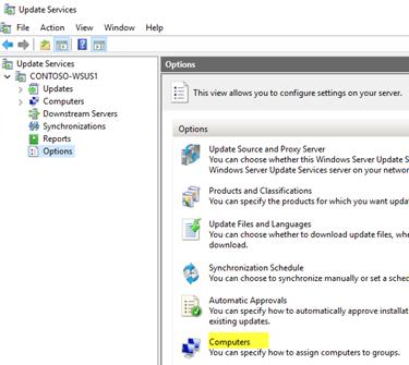 Update windows from server windows update gncelletirme sorunu