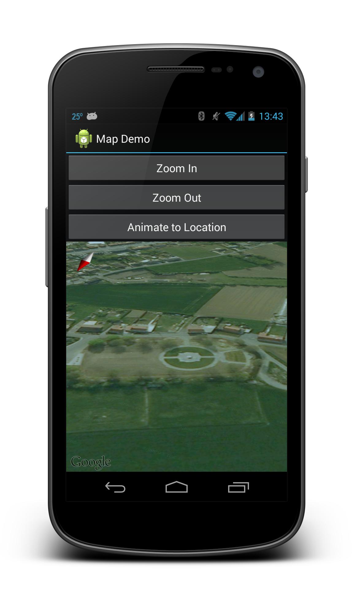 Collegare app mappa