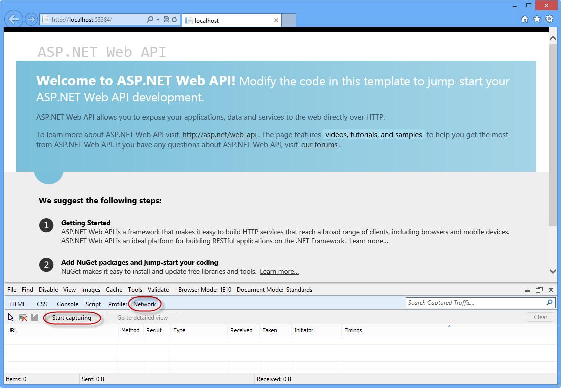 ASP.NET Web API の rest ベース...