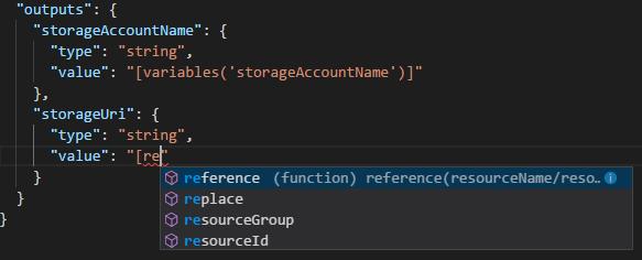 visual studio code を使って azure resource manager テンプレートを