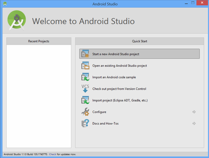 Azure notification hubs android microsoft for Google docs android studio
