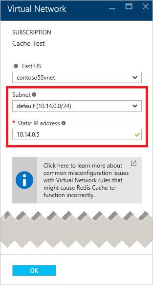 Premium azure redis cache virtual network resource manager vnet azure redis cache yelopaper Images