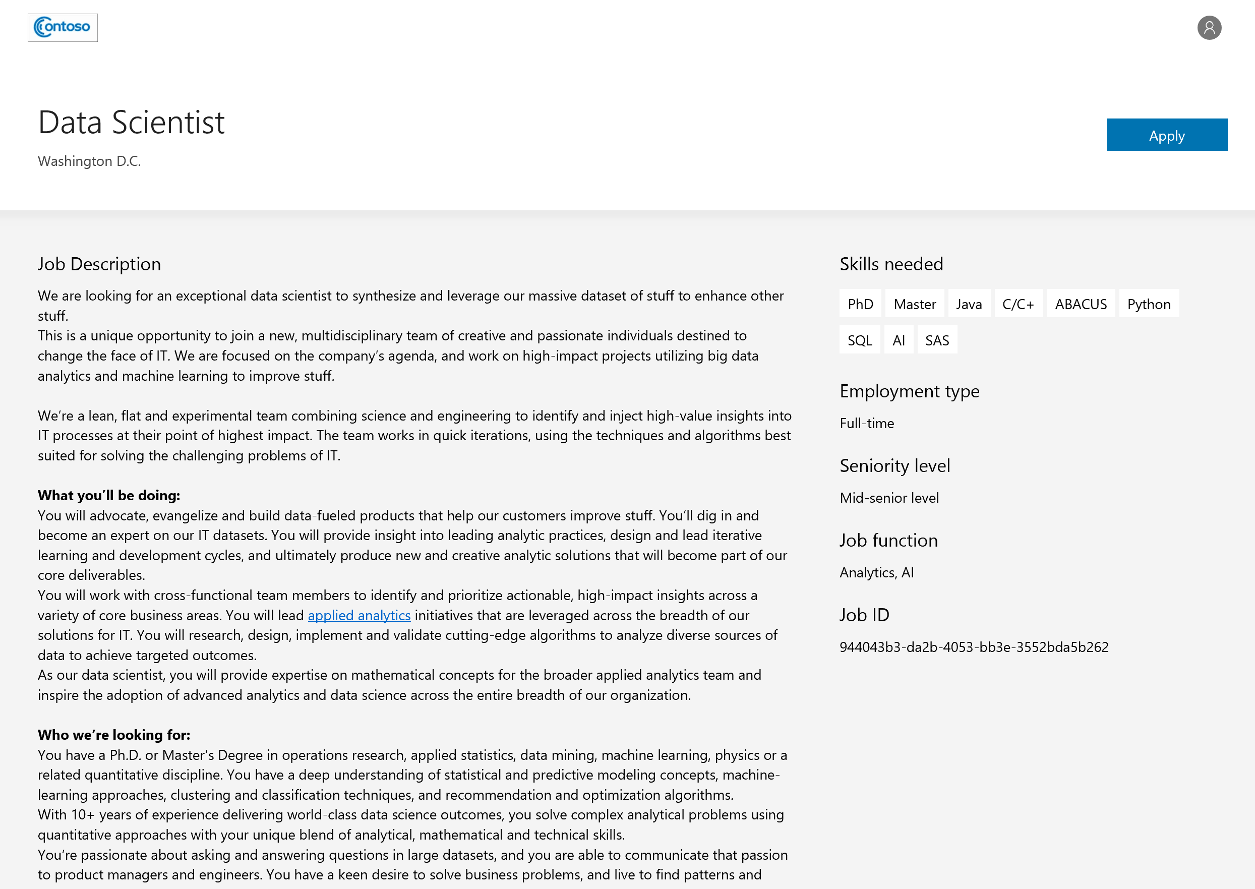 company career site release notes microsoft docs